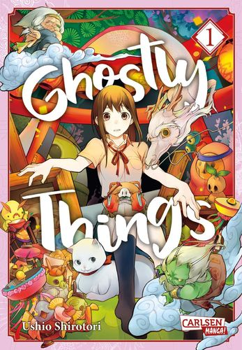 Ghostly Things - Manga 1