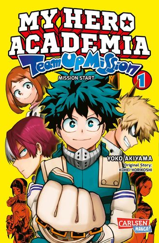 My Hero Academia Team Up Mission - Manga 1