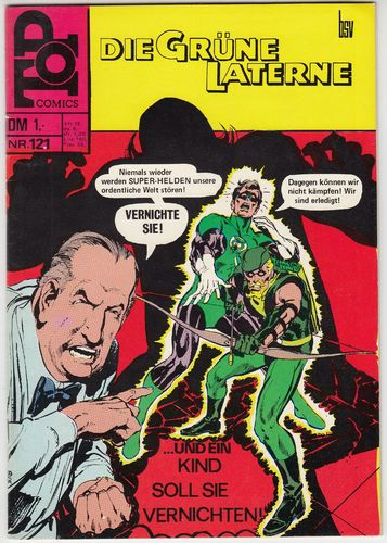 Top Comics [Jg. 1969-73] [Nr. 0121] [Zustand Z1-2]