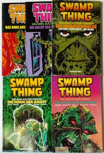 Swamp Thing 1-5 zus. Z1-2