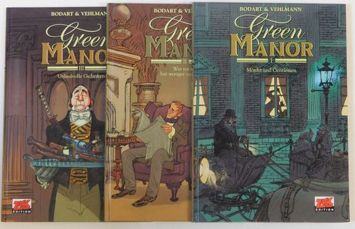 Green Manor 1-3 zus. HC m. Grafik