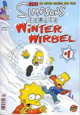 Simpsons Winter Wirbel [Nr. 0001]