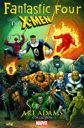 Fantastic Four und die X-Men - Art Adams Collection