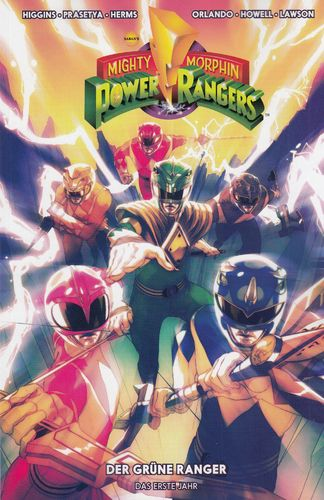 Mighty Morphin Power Ranger 1