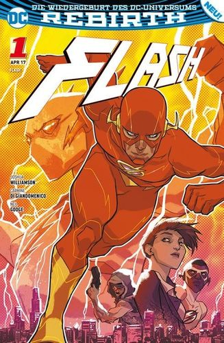 Flash DC Rebirth 1