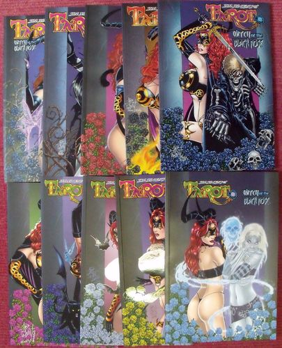 Tarot Witch of the Black Rose 1-10 zus. Z0-1/Z1