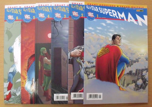 Superman, All Star [Jg. 2008/2009] [Nr. 1-6 zus.] [Zustand Z0-1]