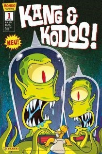 Simpsons Comics: Kang & Kodos 1