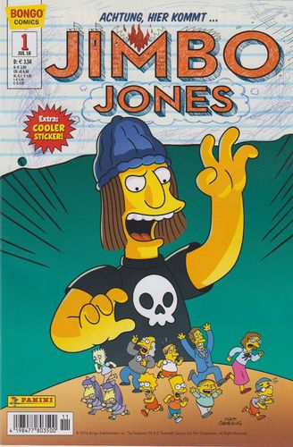 Simpsons Comics: Jimbo Jones 1