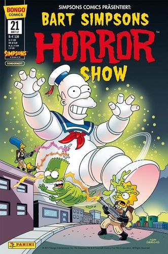 Bart Simpsons Horrorshow SH 21
