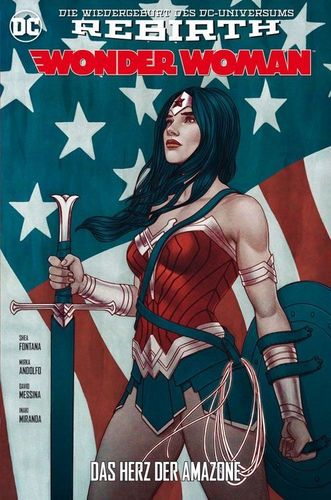 Wonder Woman DC Rebirth 4