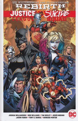 Justice League vs. Suicide Squad PB/HC