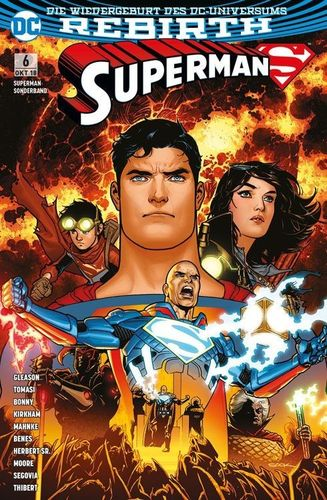 Superman Sonderband DC Rebirth 6