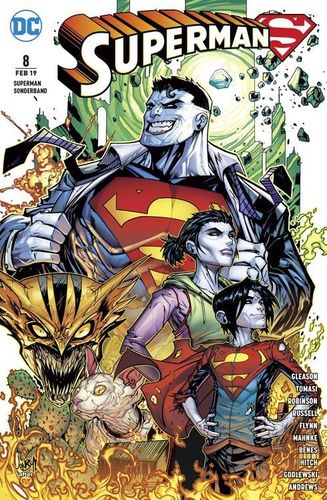 Superman Sonderband DC Rebirth 8