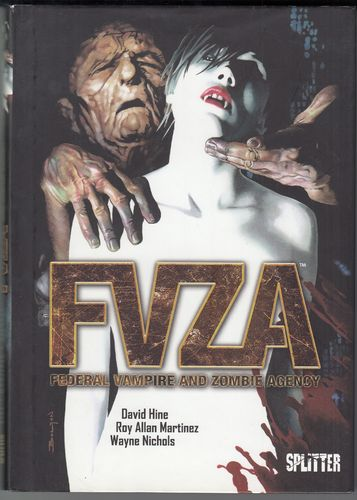 FVZA - Federak Vampre and Zombie Agency Z1