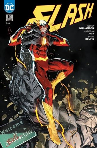 Flash DC Rebirth 10