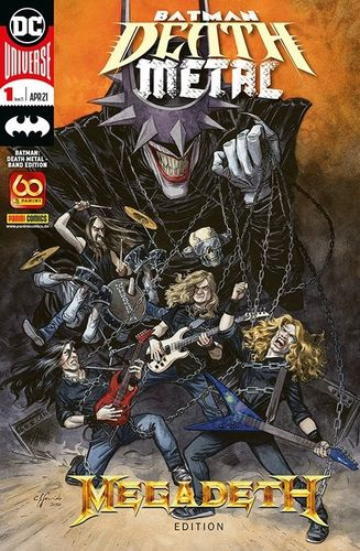 Batman Death Metal 1 - Band Edition: Megadeth